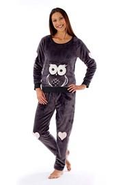 Женская пижама Owl grafit