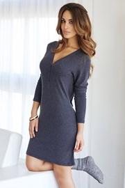 Женская итальянская сорочка Lazy days blue
