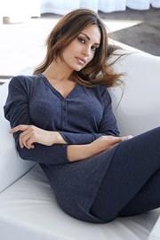 Женская итальянская пижама Lazy days blue