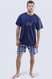 Мужская пижама Harley синяя