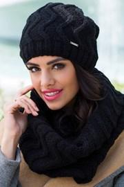 Женская шапка Alba черная