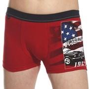 Боксерки для мальчиков America Red