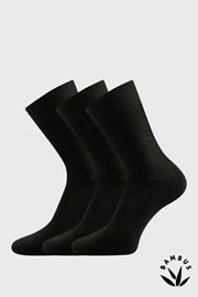 Носки 3 шт Badon черные из бамбука