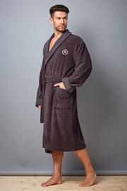Мужской халат Clint Grafit из бамбукового волокна