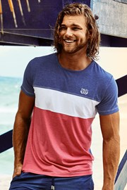 Мужская роскошная футболка Clark