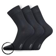 Бамбуковые носки 3 пары Debob темно-серые