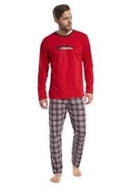 Мужская пижама Display красная