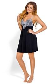 Женская элегантная сорочка Donatella Black