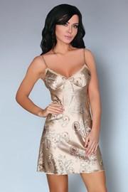 Роскошная сорочка Dragana Camel