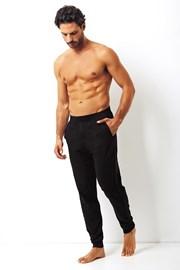 Мужские хлопковые брюки Enrico Coveri черные
