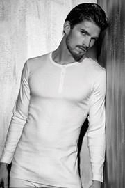 Мужская нательная футболка Enrico Coveri 1520 длинные рукава
