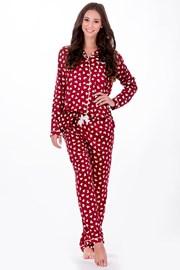 Женская итальянская пижама Elegance Red