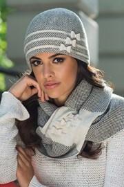 Женская элегантная шапка Felicia бежевая