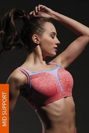 Спортивный бюстгальтер Flow Pink с косточками