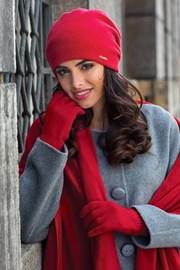 Женская шапка Georgia красная