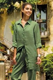 Женское льняное платье Sherie Green из коллекции Iconique