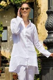 Женское льняное платье Sherie White