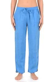 Женские льняные брюки Sherie Blue из коллекции Iconique