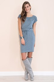 Женское комфортное платье Naos Grey