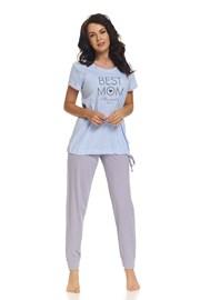 Пижама для кормящих мам Best Mom Blue
