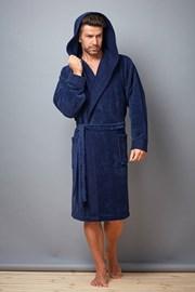 Мужской халат Pedro Navy