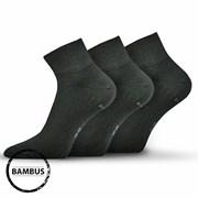 Носки 3 шт Raban черные бамбуковые