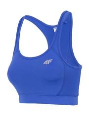Женский неуплотненный спортивный топ Blue