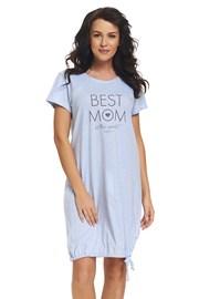 Сорочка для кормящих мам Best Mom Blue
