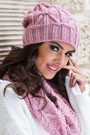 Женская шапка Trini розовая