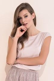 Женская элегантная футболка Vivian Pink