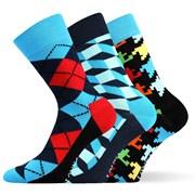 Модные носки 3 пары Woodoo MixB