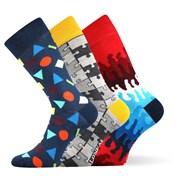 Модные носки 3 пары Woodoo MixD