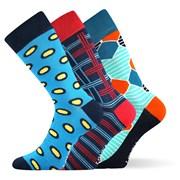 Модные носки 3 пары Woodoo MixE