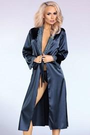 Элегантный атласный халат Yasmeen