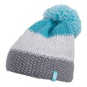 Женская шапка 4f с гороховым узором