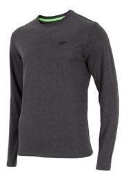 Мужская облегающая футболка 4f серая